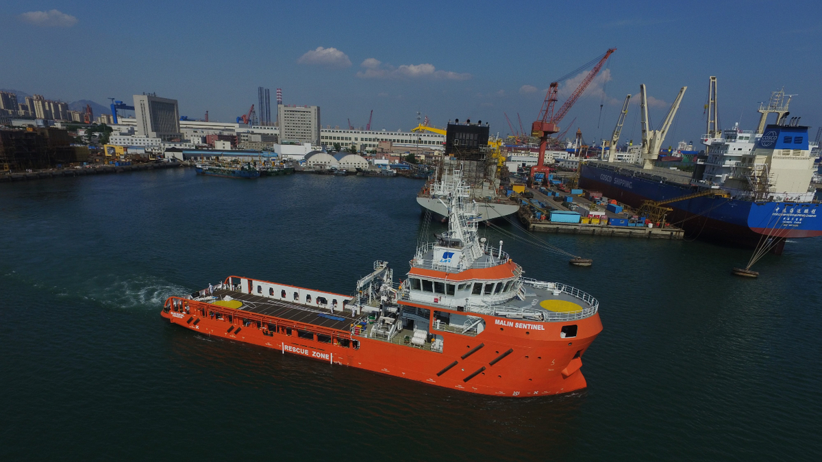 Multi-functional Malin Sentinel will have the capability to support ERRV, oil recovery, tanker assist and cargo handling
