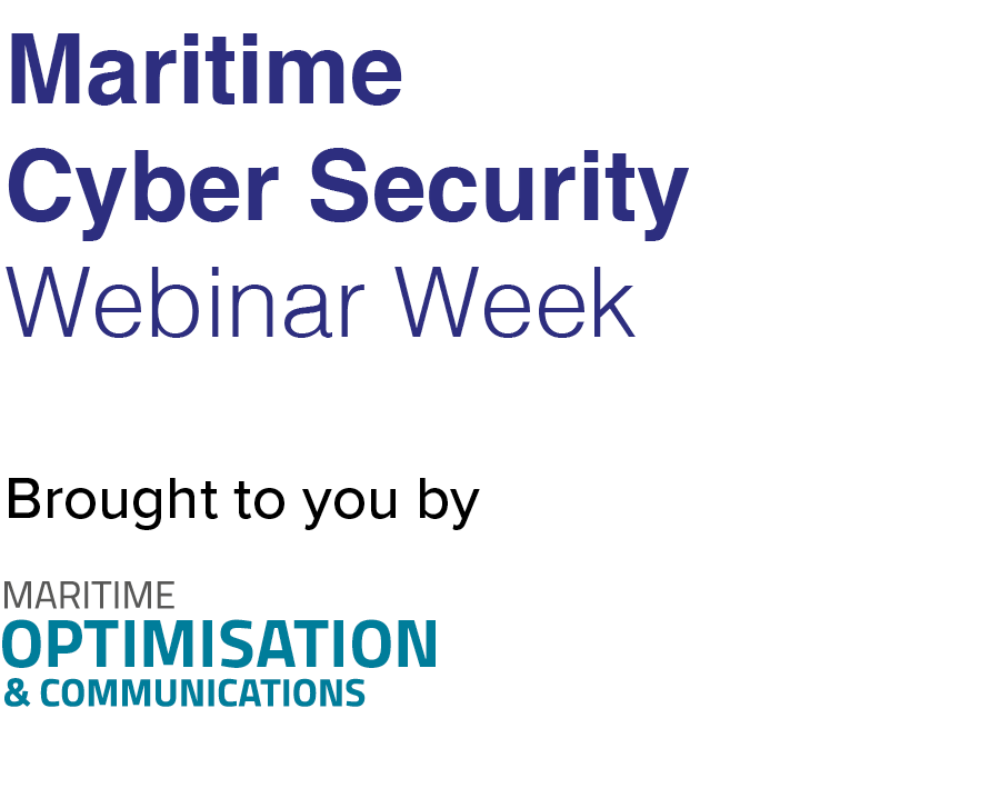 Maritime Cyber Security Webinar Week