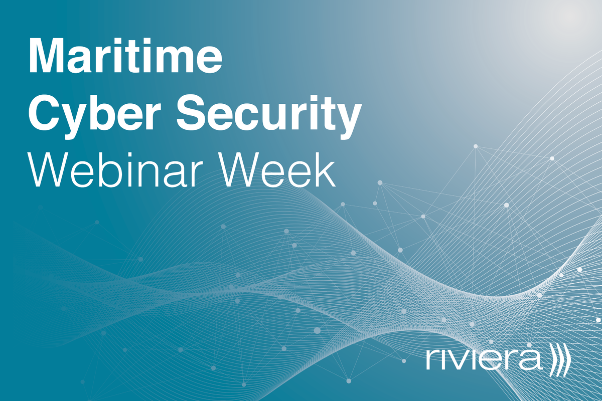 Maritime Cyber Security Webinar Week