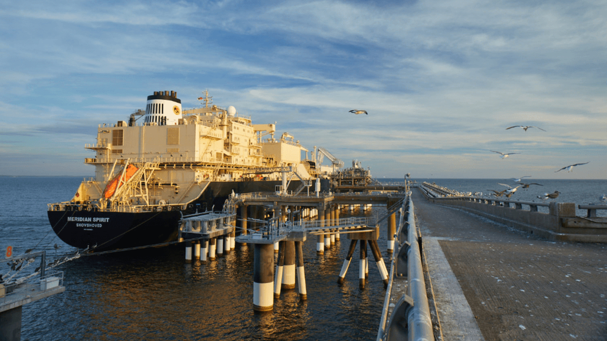 Berkshire Hathaway would operate Cove Point, which imports and exports LNG (image: Matthew Rakola/Dominion Energy)