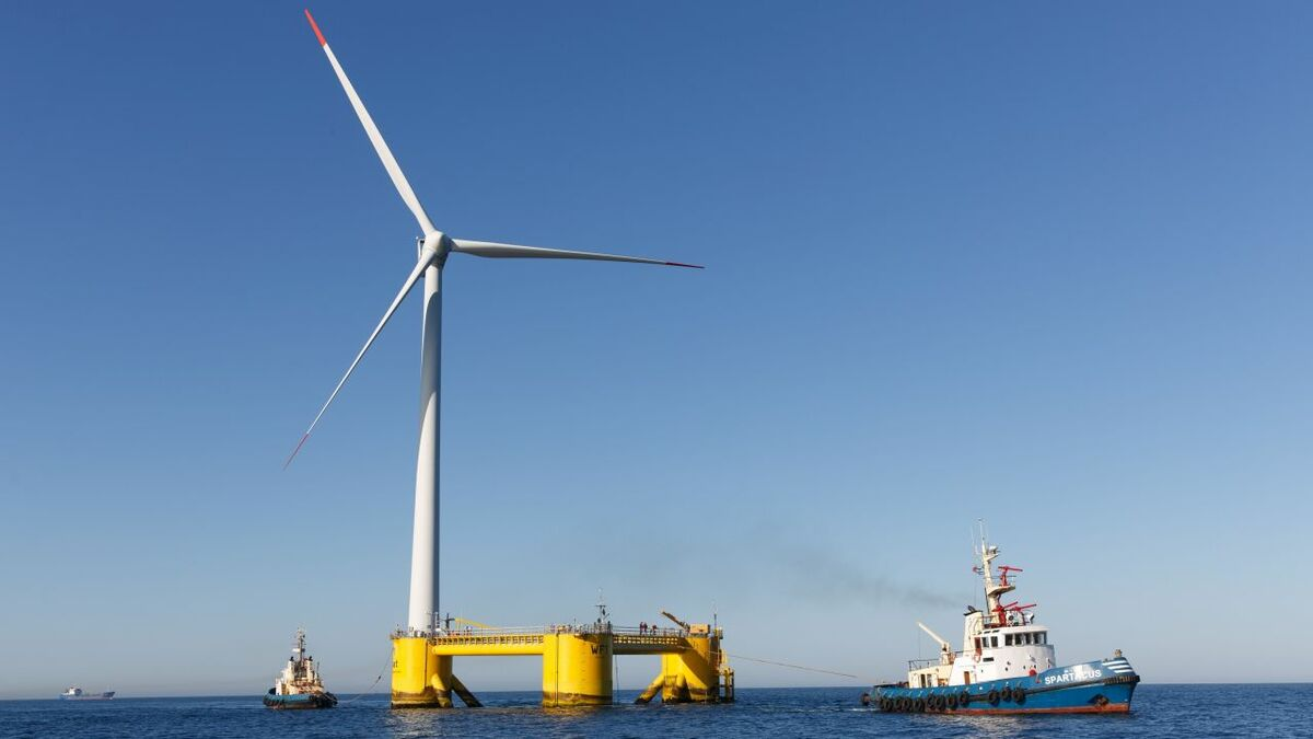 Simply Blue unveils plan for 1-GW floating windfarm offshore Ireland