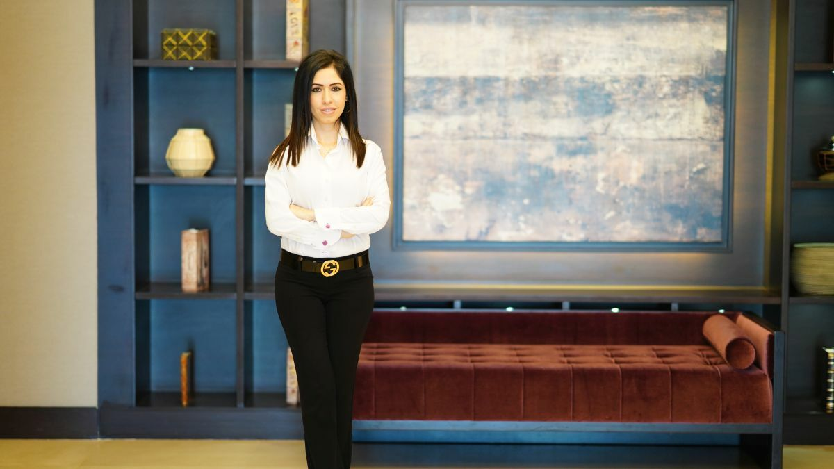 """Sanaz Taransari (SIS): """"Work hard, be professional and at the top of your game and you will always be taken seriously"""""""