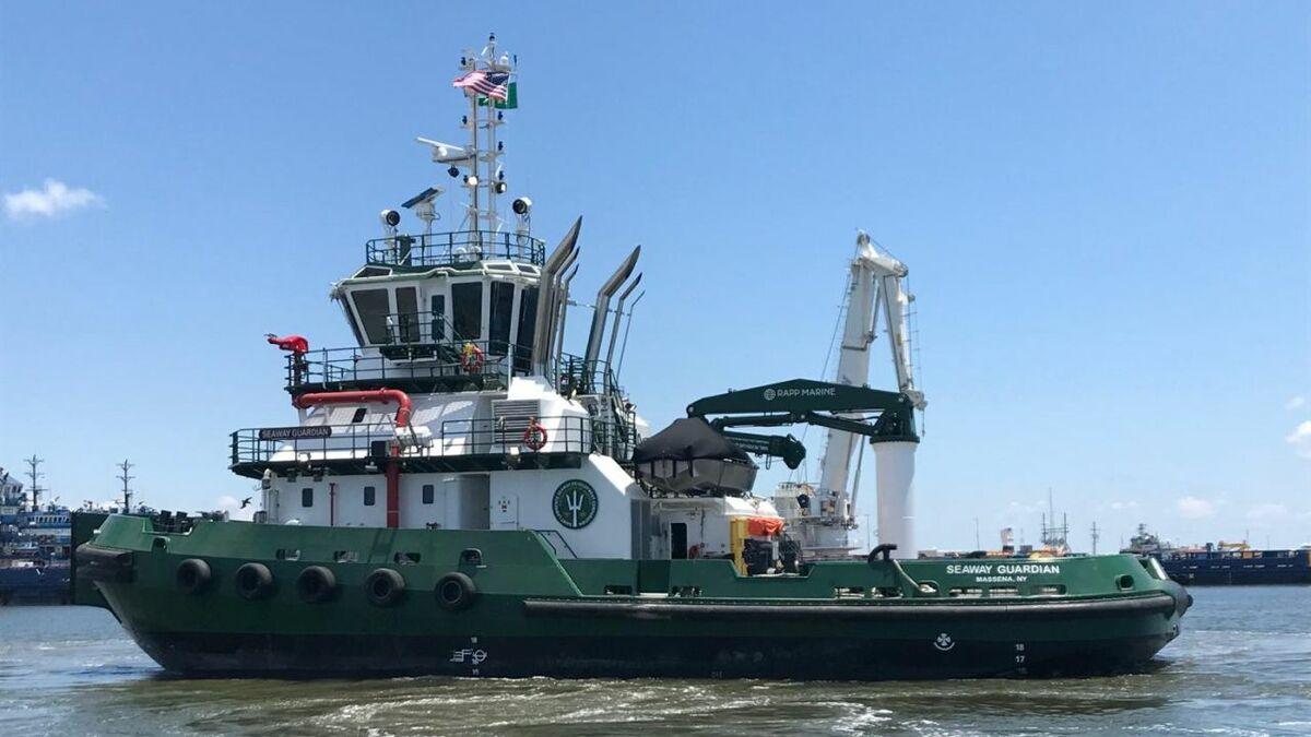 Seaway Guardian was built by Gulf Island Fabricators in Louisiana