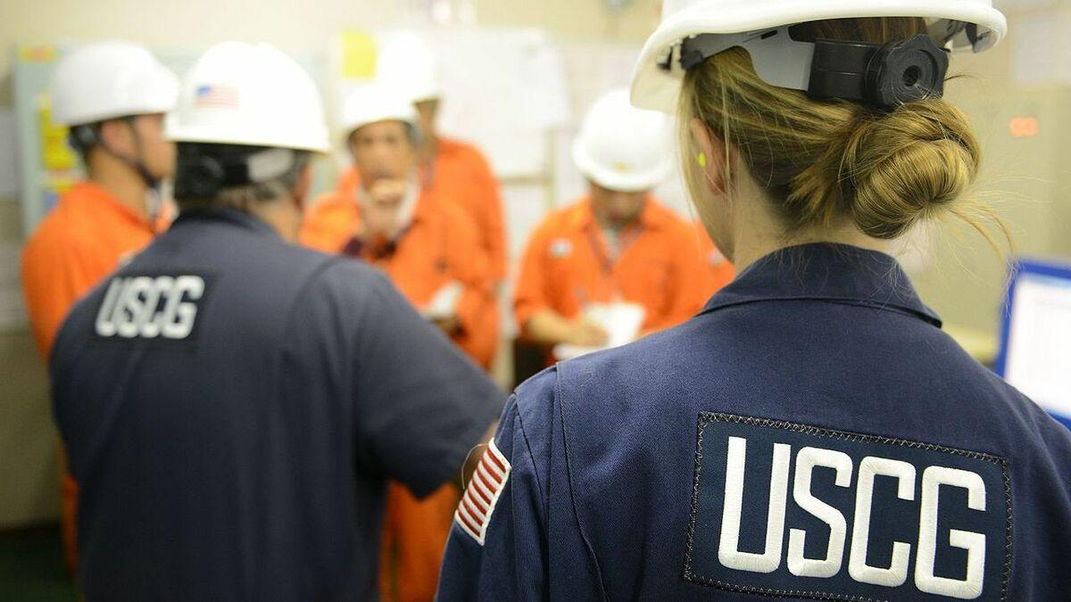 US Coast Guard PSC inspectors quiz crew on skills and competences