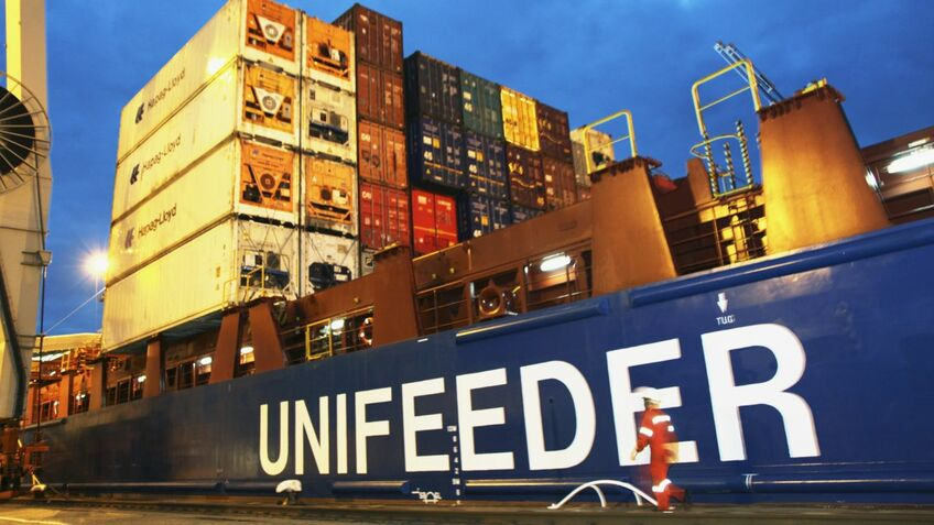 Unifeeder bets on digital twins for cutting fuel consumption