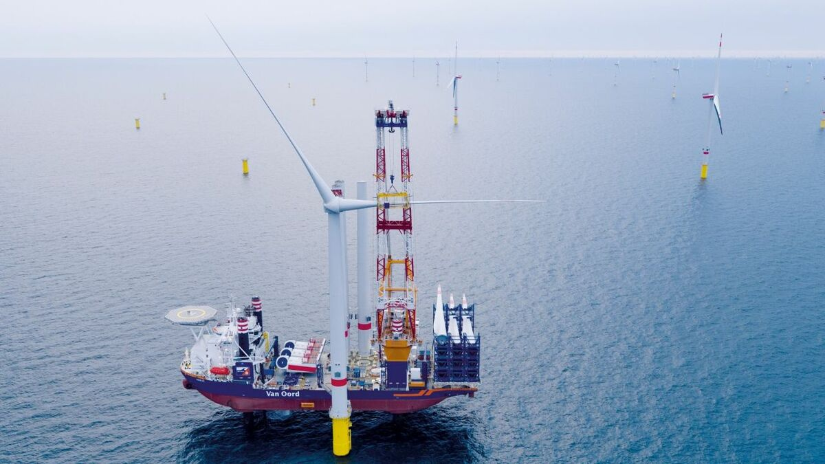 Van Oord will use the installation vessel Aeolus on the Saint-Brieuc project