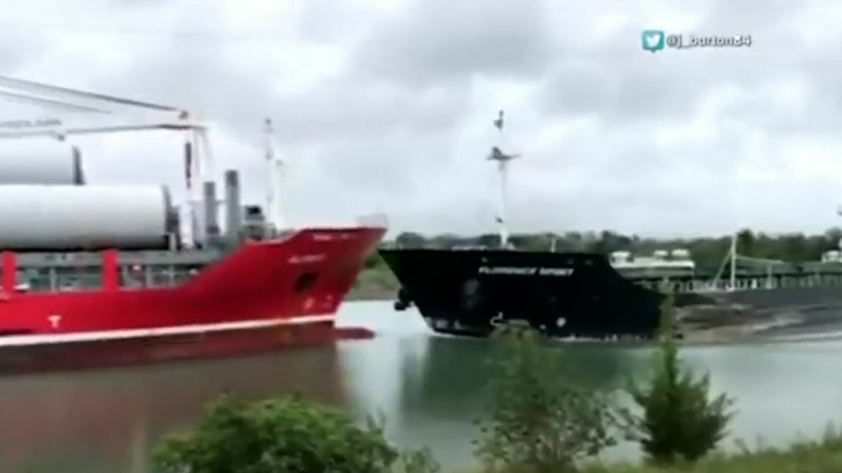 Vessels collide in Welland Canal at well-known passing location
