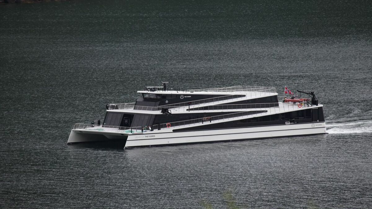 Norwegian electric ferry Legacy of The Fjords delivered