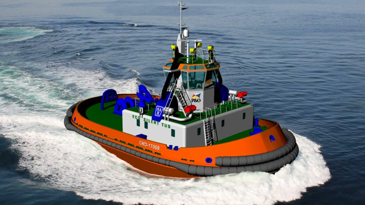 P&O Reyser ordered a IMO Tier III-compliant tug to an ATT 2020 design