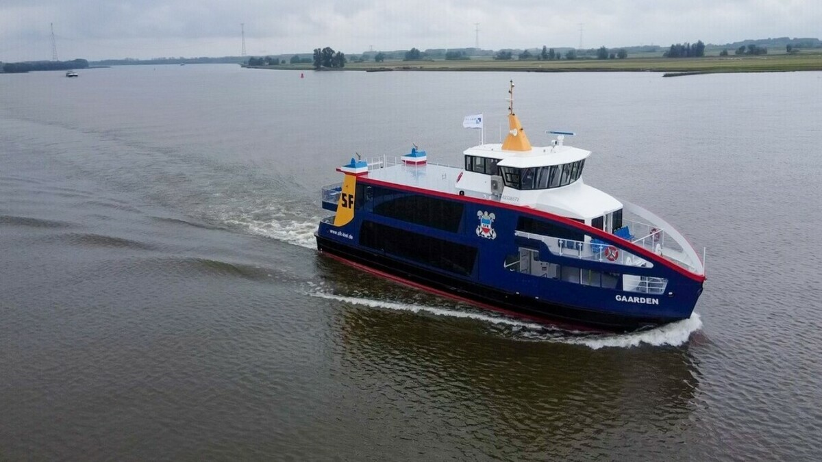 Germany's SFK takes delivery of hybrid ferry