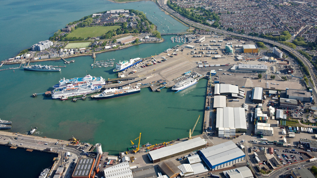 Portsmouth International Port: the site for the SPIDS project (Image: Portsmouth International Port)