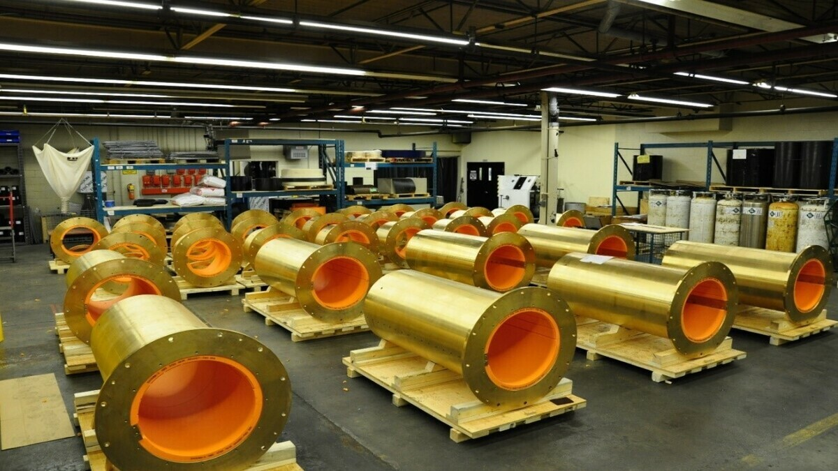 Thorndon's COMPAC water-lubricated propeller shaft bearnings will be supplied to HMCS Margaret Brooke and HMCS Harry DeWolf (Image: Thorndon Bearnings)