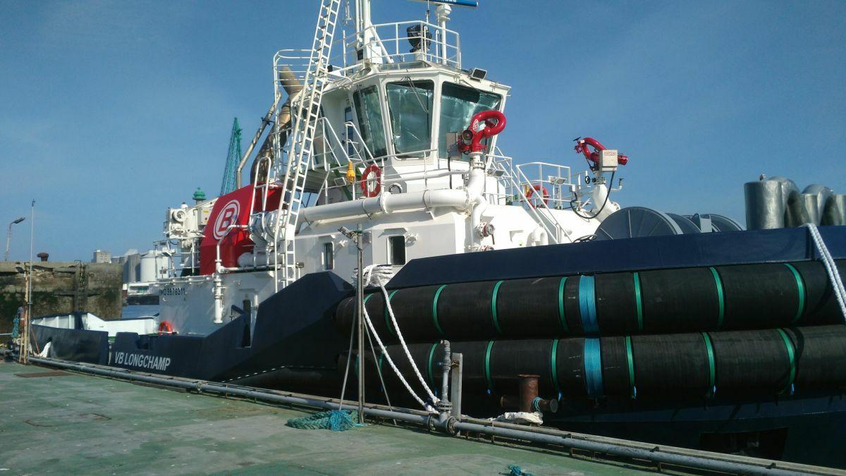 Boluda France started operating Piriou-built VB Longchamp in Le Havre port