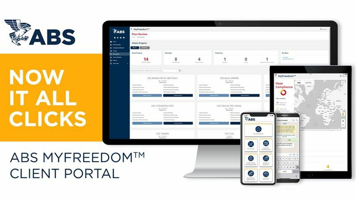 ABS Apps on MyFreedom client portal provide compliance insight