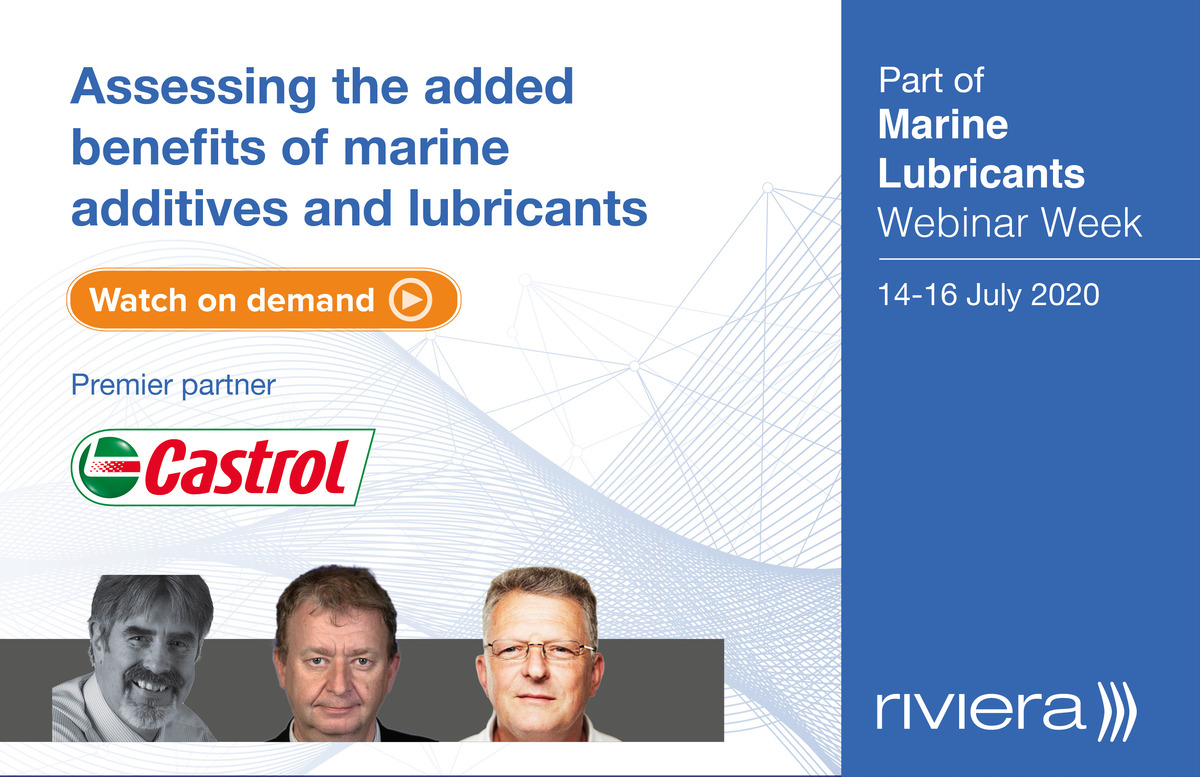 Assessing the added benefits of marine additives and lubricants webinar panel