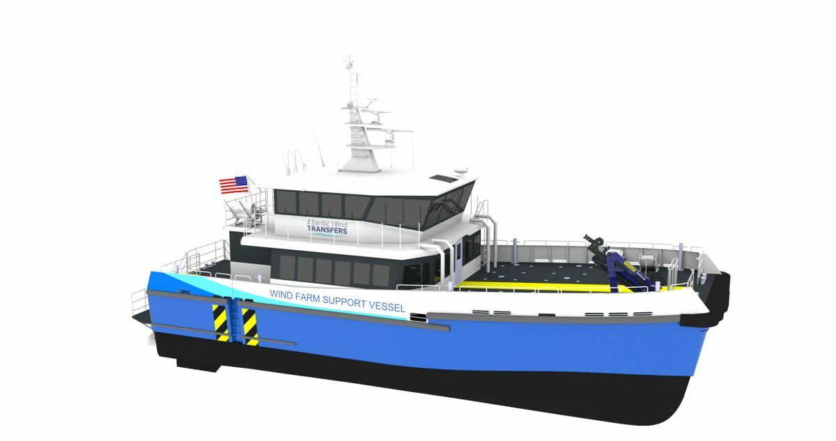 Based on a Chartwell 24 design, Atlantic Wind Transfers' newbuild CTV will be delivered in Q3 2020