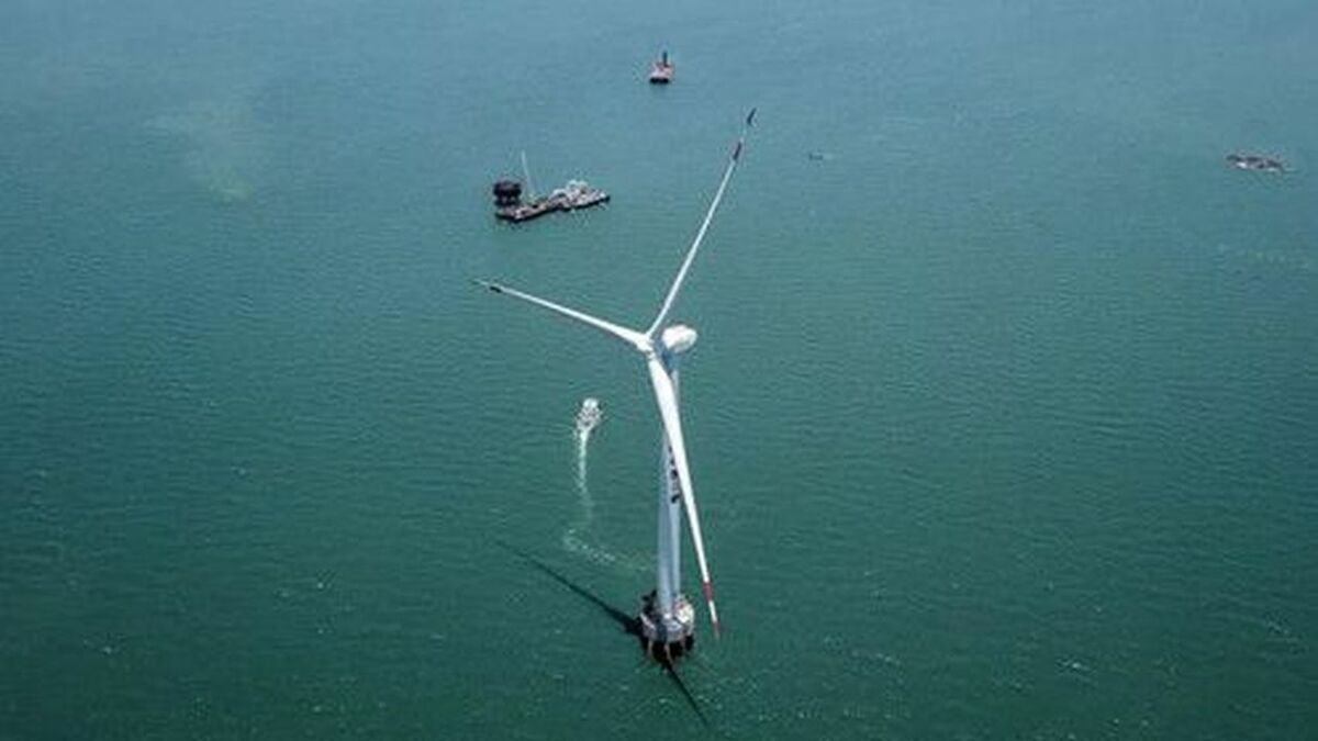 First Chinese 10-MW turbine enters into operation