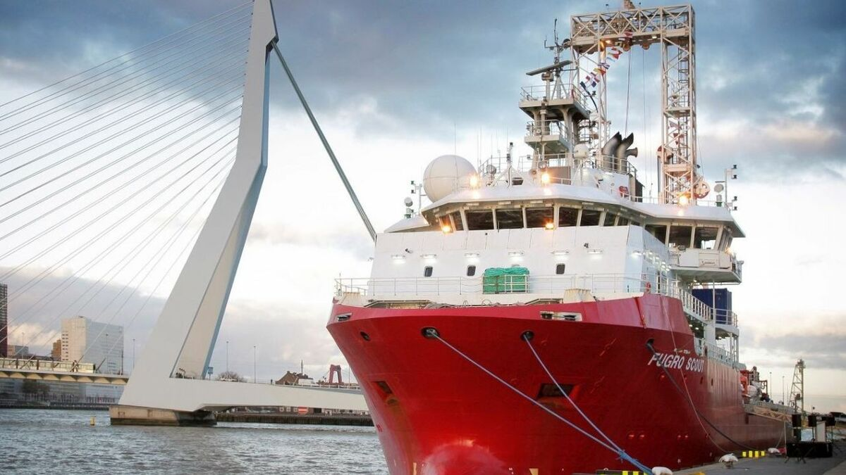 Fugro will use the geotechnical drill ship Fugro Scout for the Vattenfall projects