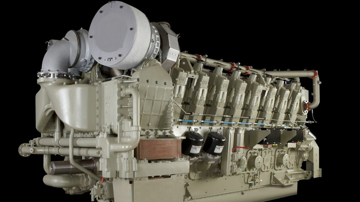 GE Tier 4 250 medium-speed engine technology