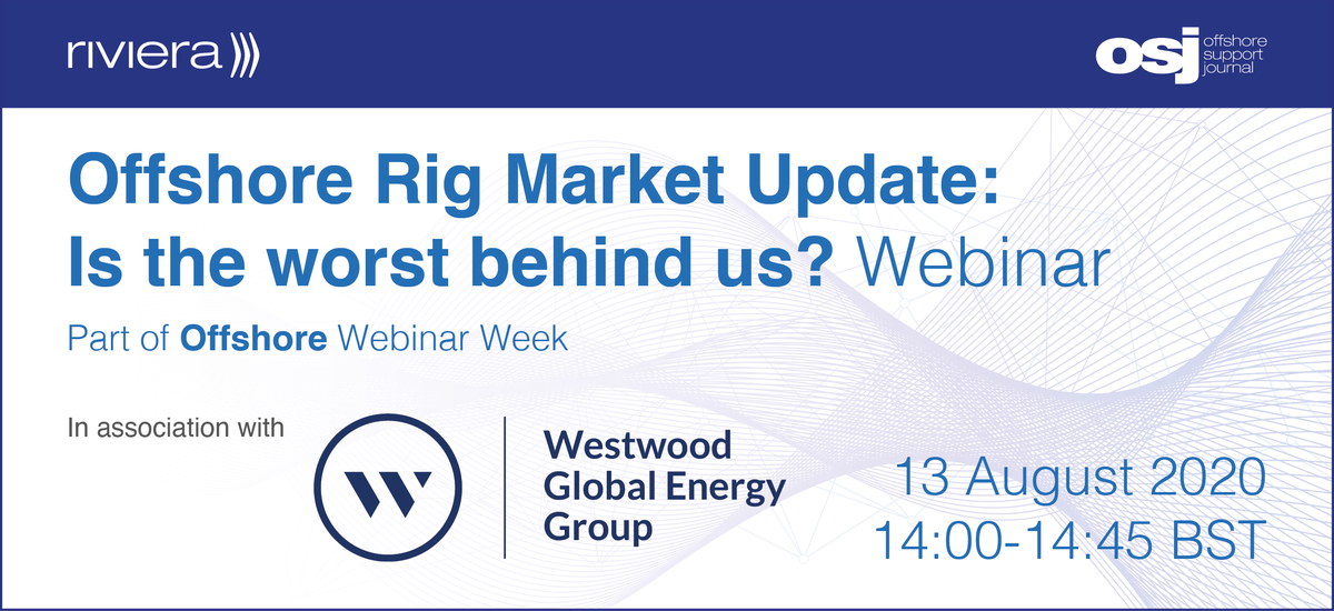 Offshore Rig Market webinar, part of Offshore Webinar Week