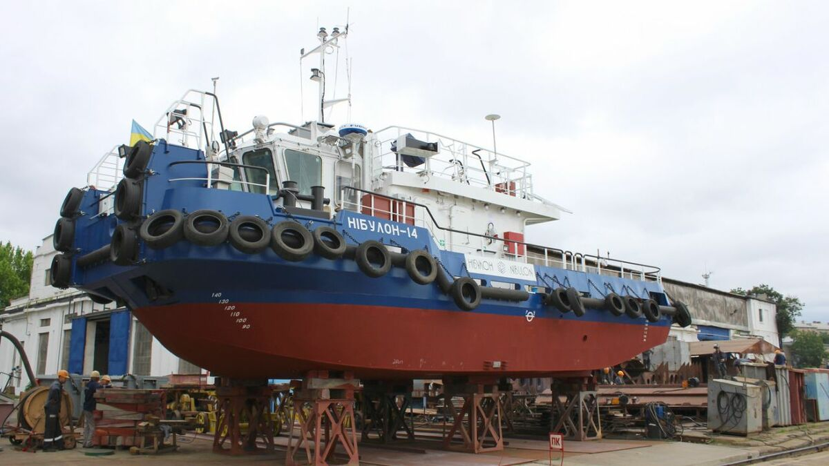 Nibulon launches the second T410 project tug