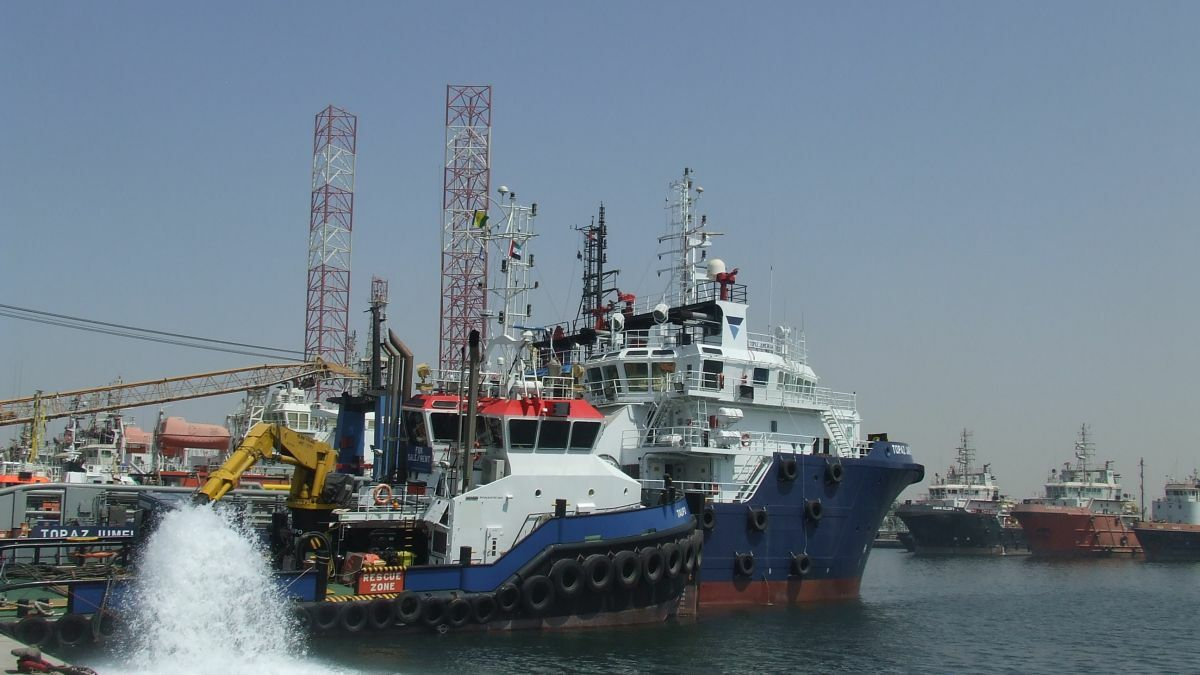 P&O Maritime Logistics vessel uses 4G connectivity in UAE port