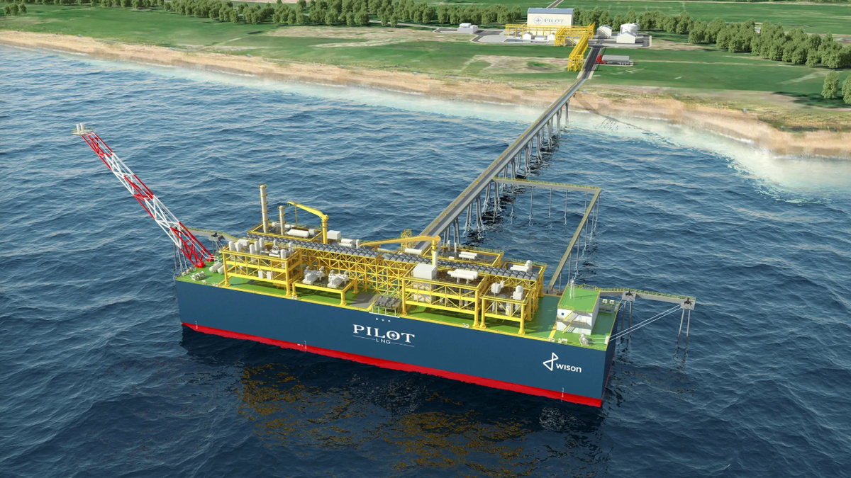 Pilot LNG's Galveston LNG Bunker Port will include the second FLNG vessel in the Americas and first in the US (image: Pilot LNG)