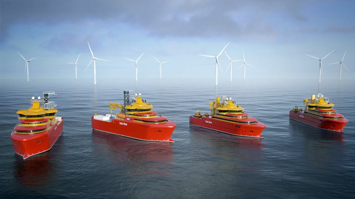 These SOVs and CSOVs are designed to be refit with hydrogen fuel-cell technology (image: Salt Ship Design)