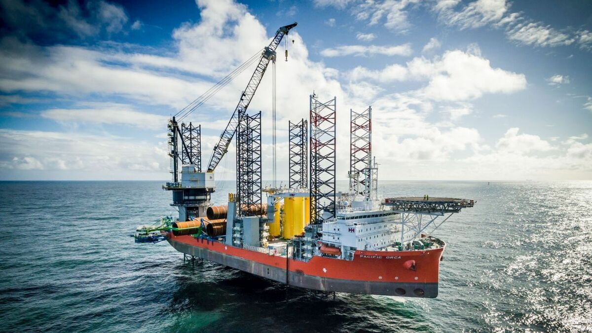 Cadeler operates two wind turbine installation vessels and is planning to acquire a new class of ships