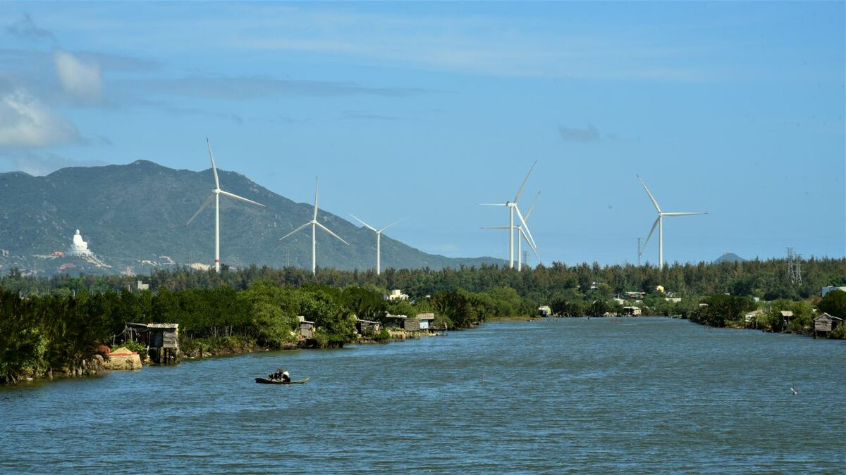 Siemens Gamesa's latest contract in Vietnam includes turbines for the Tan Thuan nearshore windfarm