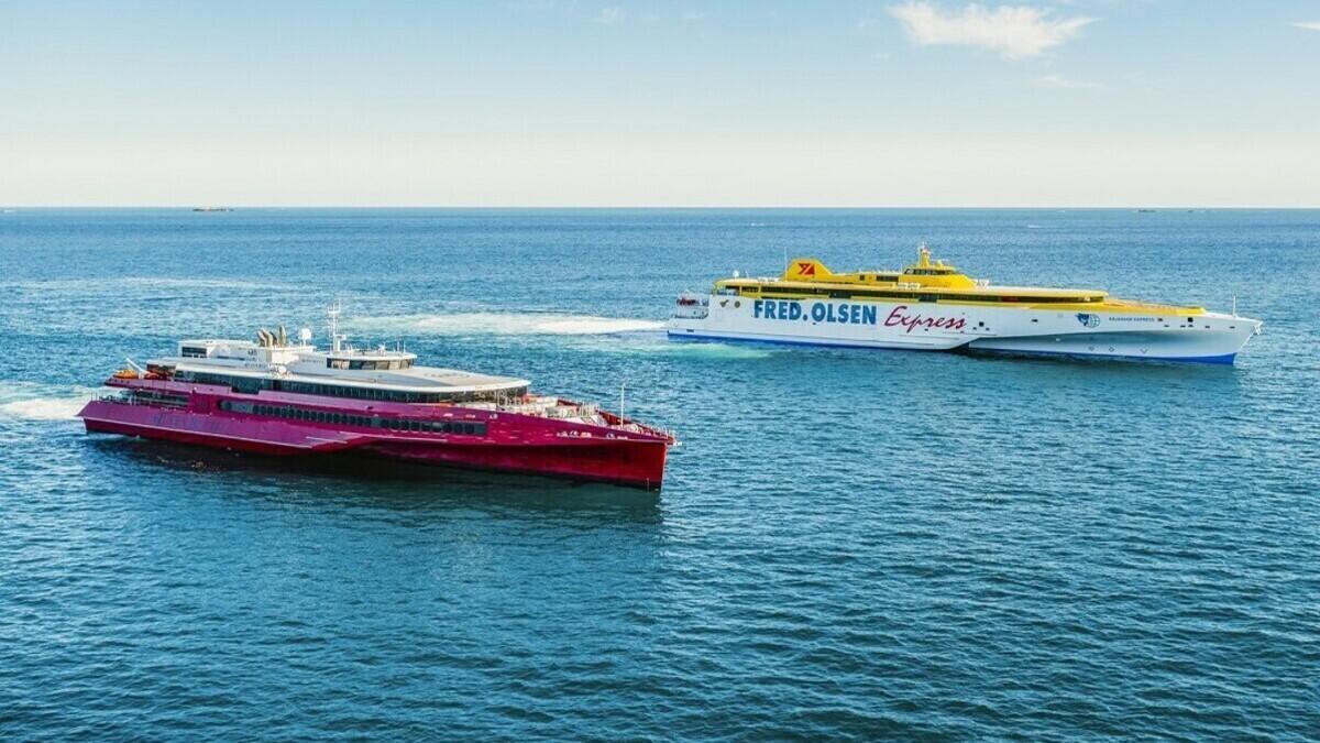 Austal completes sea trial of high-speed trimaran ferries