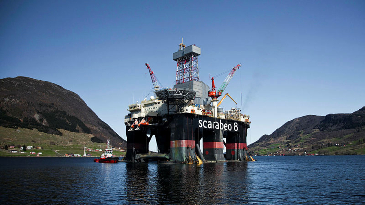 The ultra-deepwater semi-submersible Scarabeo 8 will begin drilling in Q3 for Var Energi