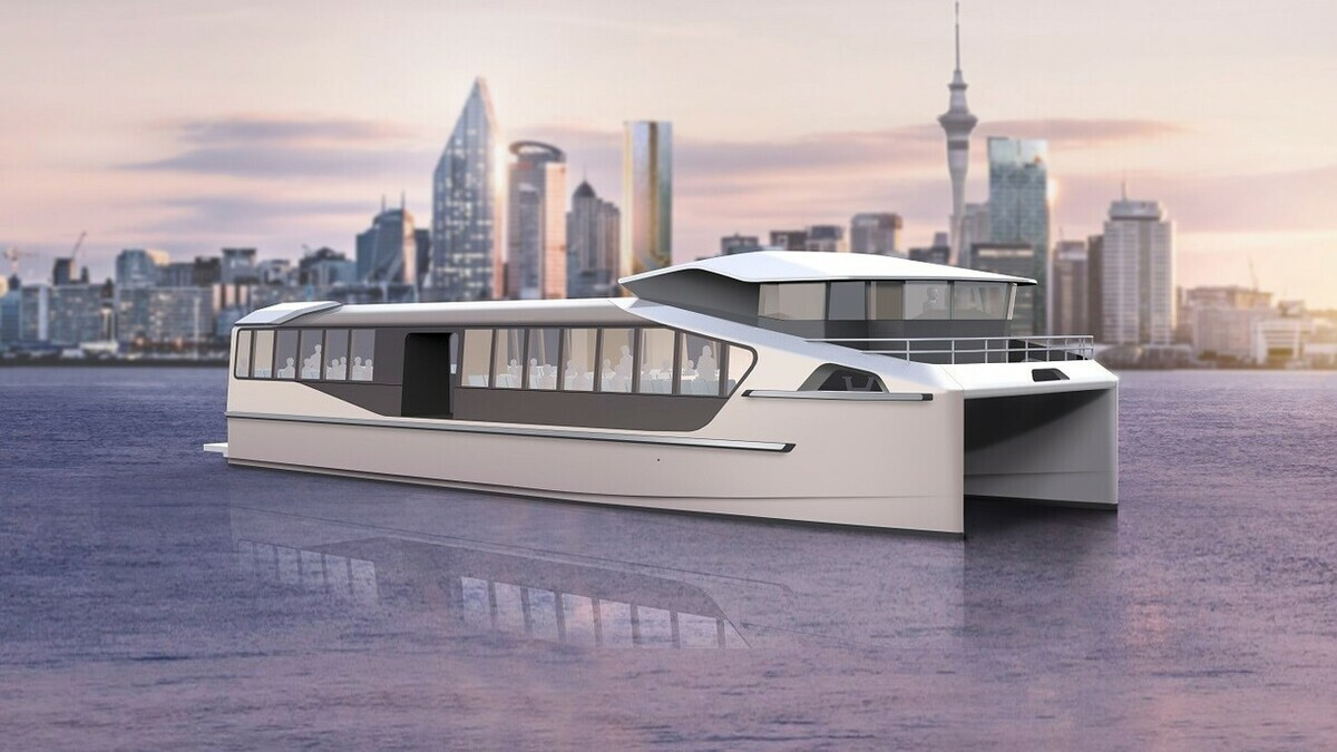 EV maritime and Hamilton Jet to collaborate on building new battery-powered ferries (Image: EV Maritime)