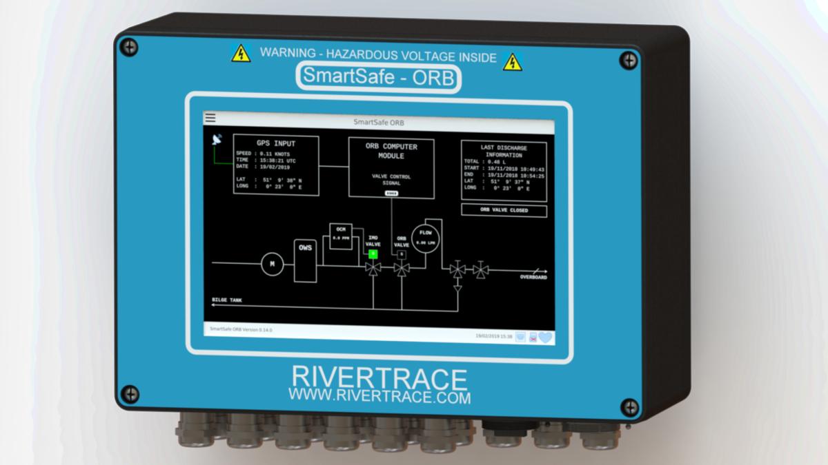 Smartsafe ORB monitoring system (Image: Rivertrace Ltd)