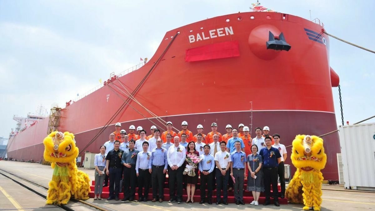 Baleen: one of an exciting new series of combination carriers entering the fleet