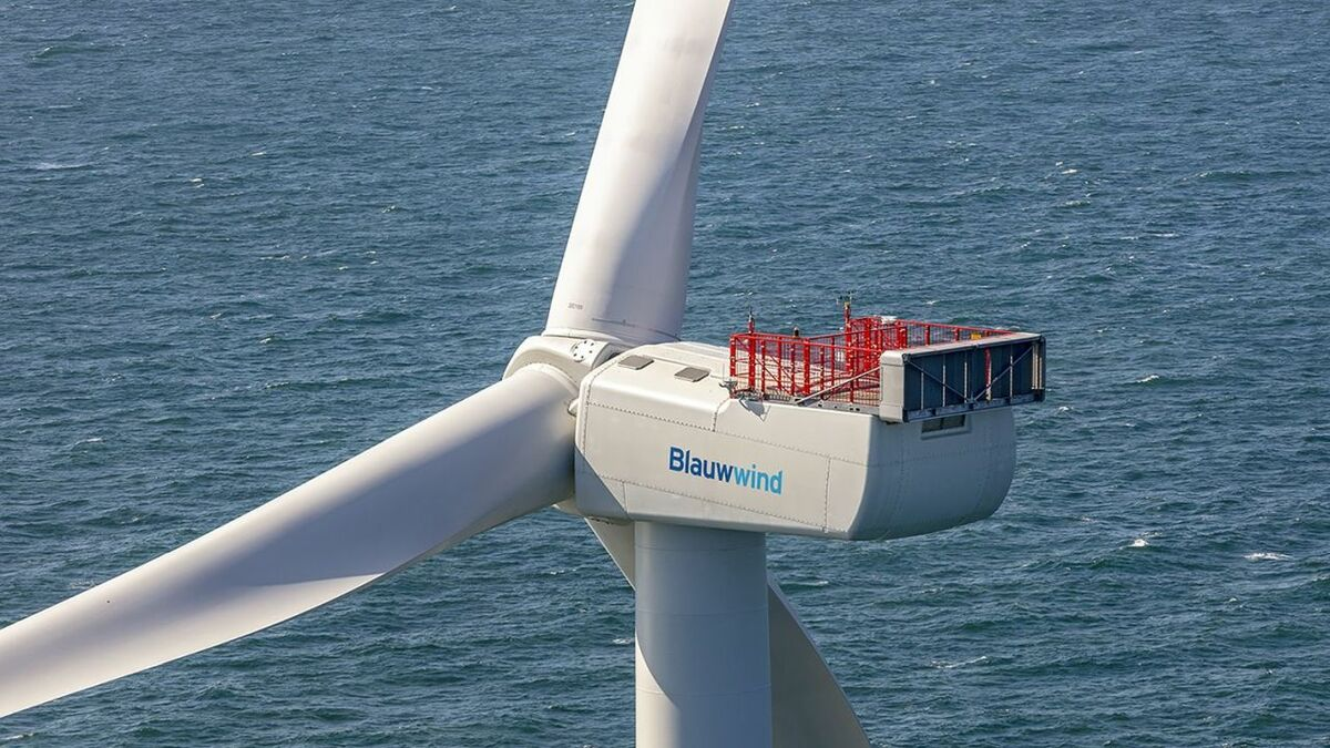 First power from Blauwwind's Borssele III/IV windfarm