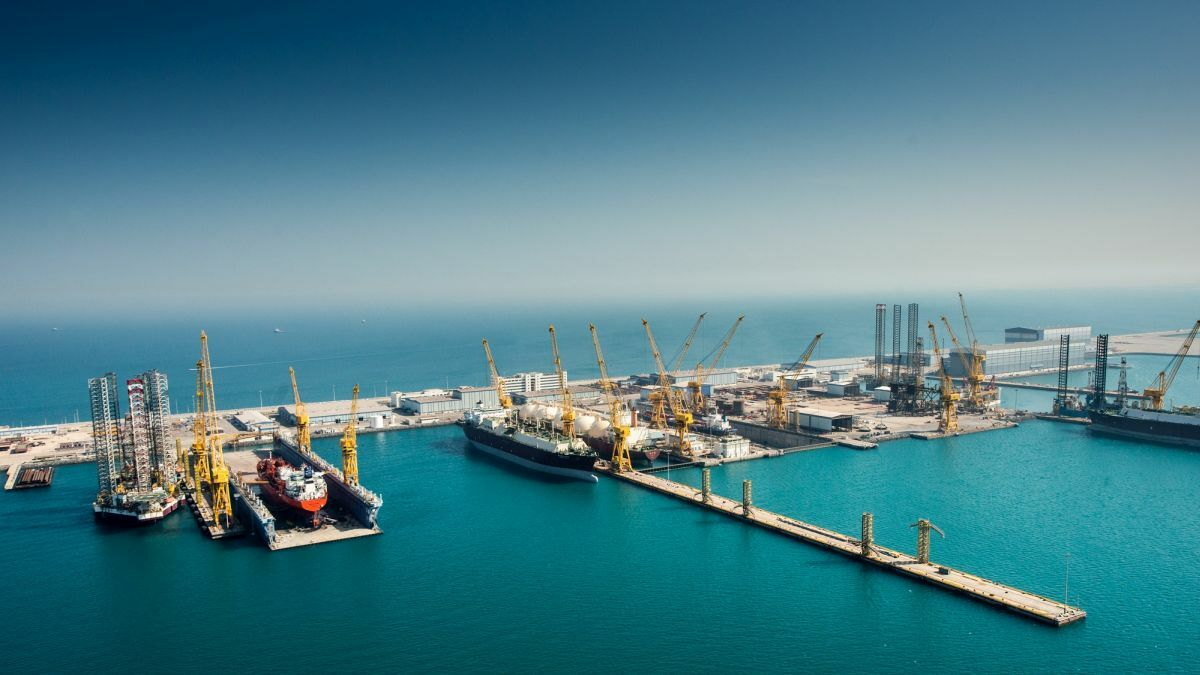 N-KOM continues to capture a significant portion of the tanker retrofit business in the Middle East