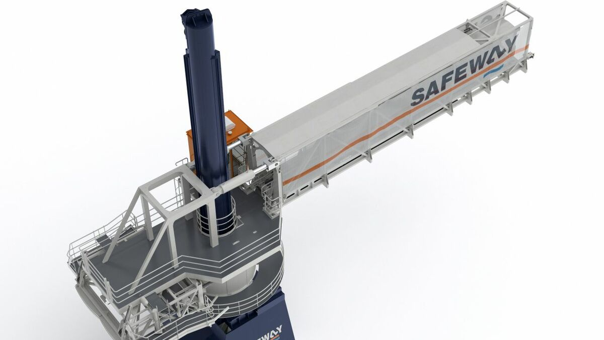 Safeway unveils new gangway designed for growing SOV market