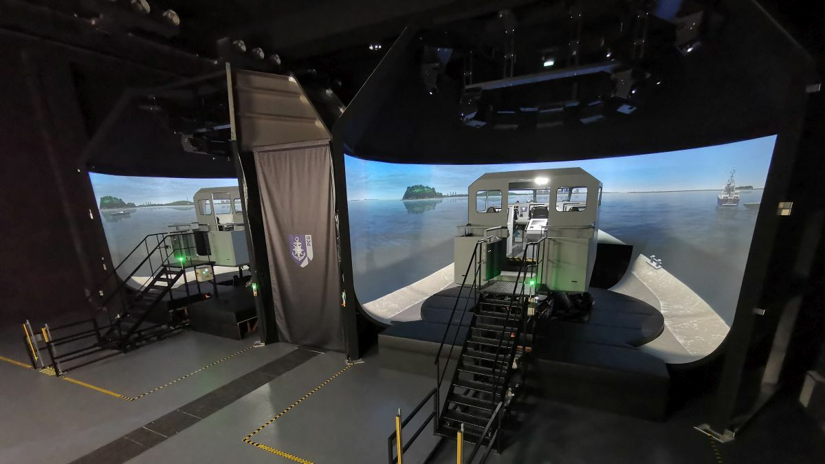 Kongsberg supplied a fast craft simulator to Singapore Police Coast Guard