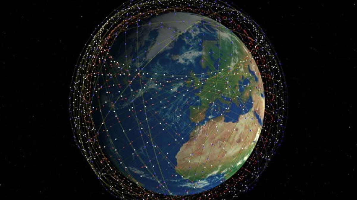 Future constellations of LEO satellites will orbit the whole world