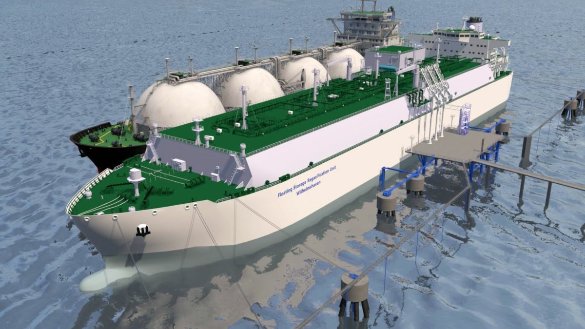 The FSRU built for LNG Terminal Wilhelmshaven will match the capacity of the world's largest