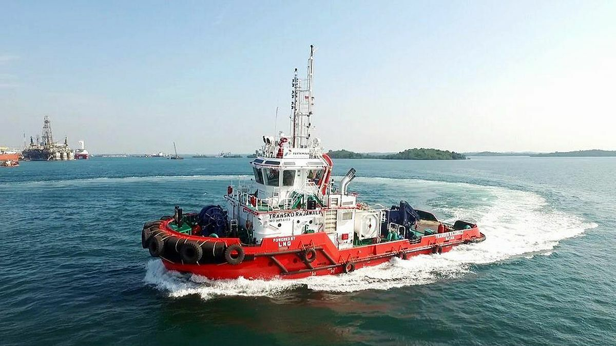 PaxOcean is building a dual fuel-tug for Indonesia Pertamina