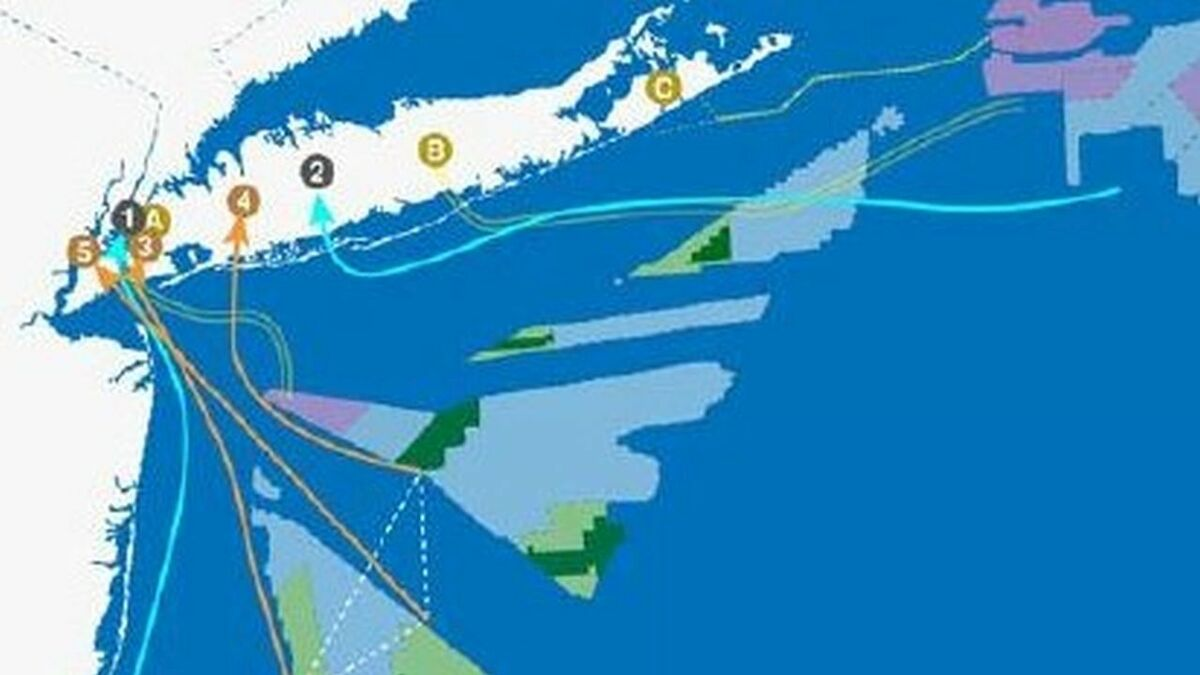 Advocates say planned offshore transmission will reduce costs and cabling and reduce potential environmental issues