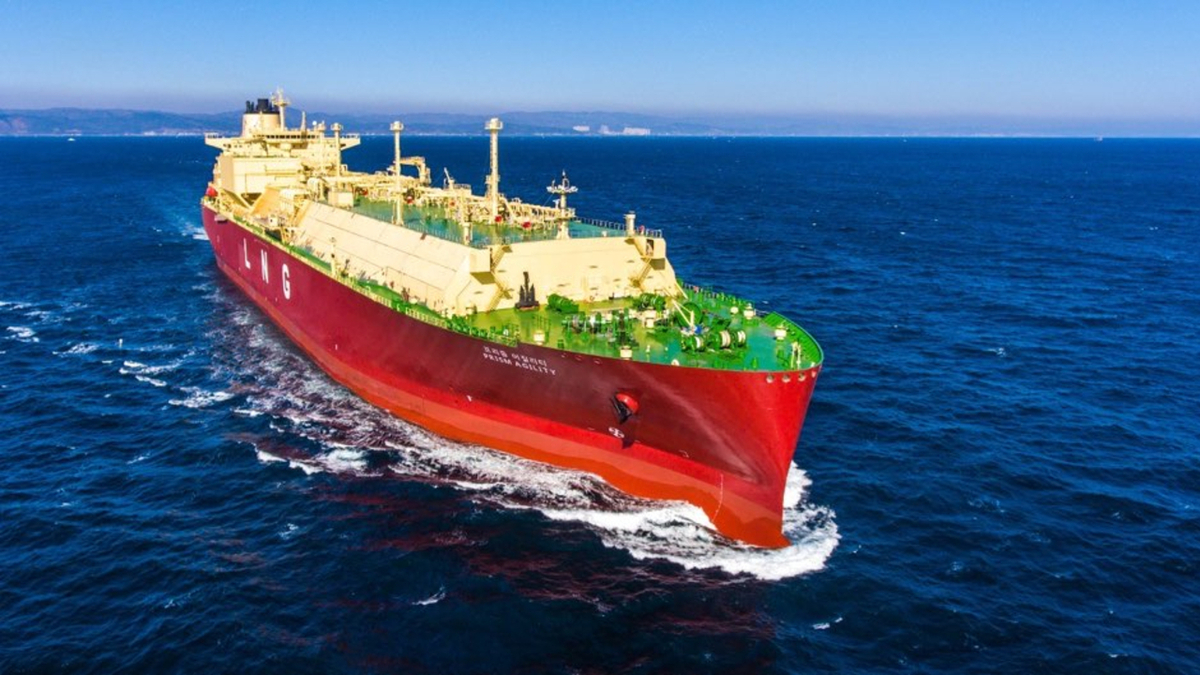 First confirmed LNG carrier contract for South Korean shipbuilders