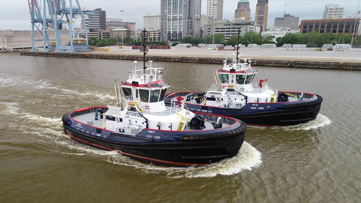 Seabulk Towing operates a fleet of Rotortugs and has four more on order