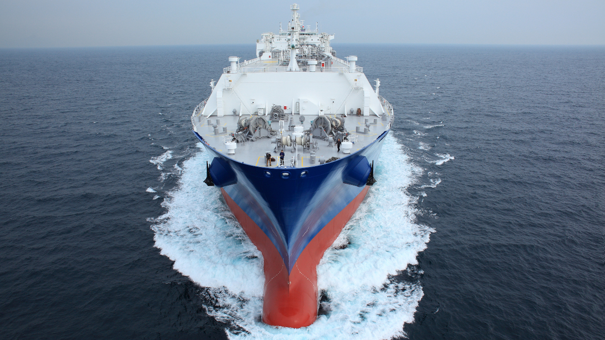 KR has developed new class rules for membrane-type LNG carriers (Image: SHI)