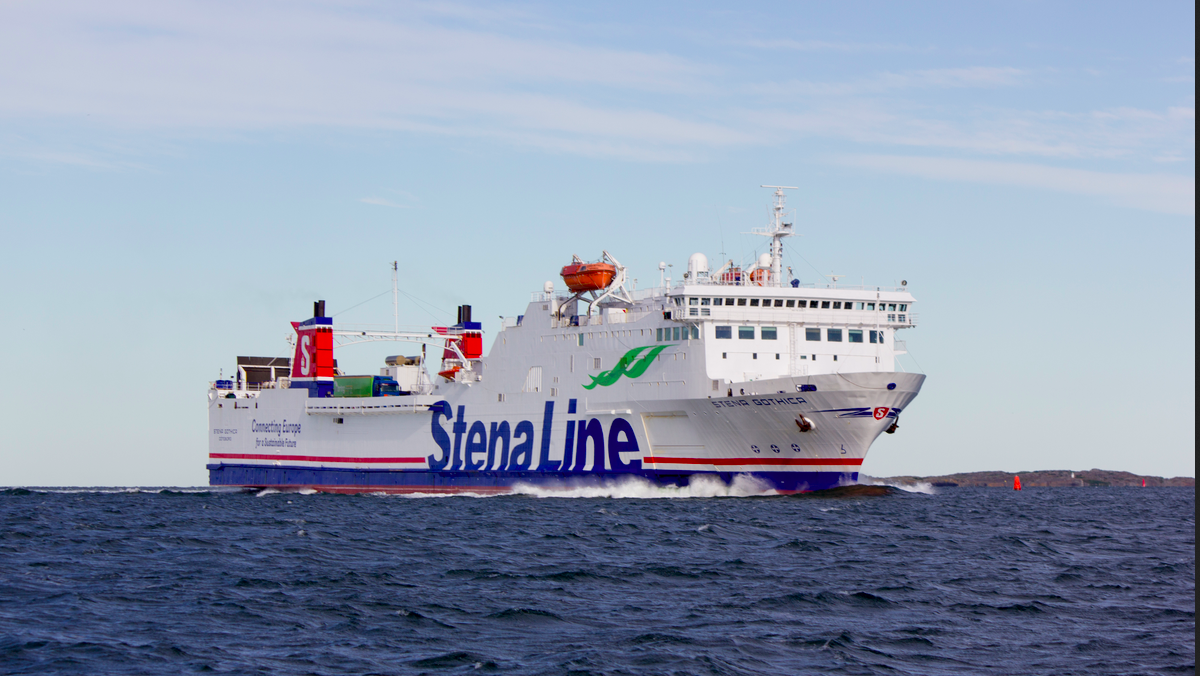 Stena Gothic operates on the route (Image: Stena Line)