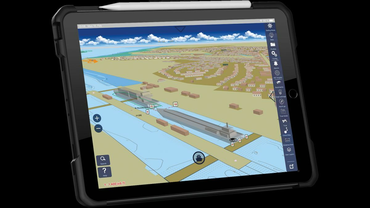 SevenCs Orca Pilot X provides 3D situational awareness on tablets