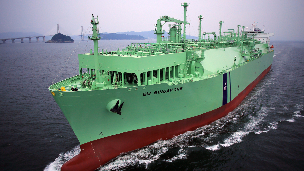 FSRUs are faster to deploy and more flexible than land-based terminals (image: BW LNG)