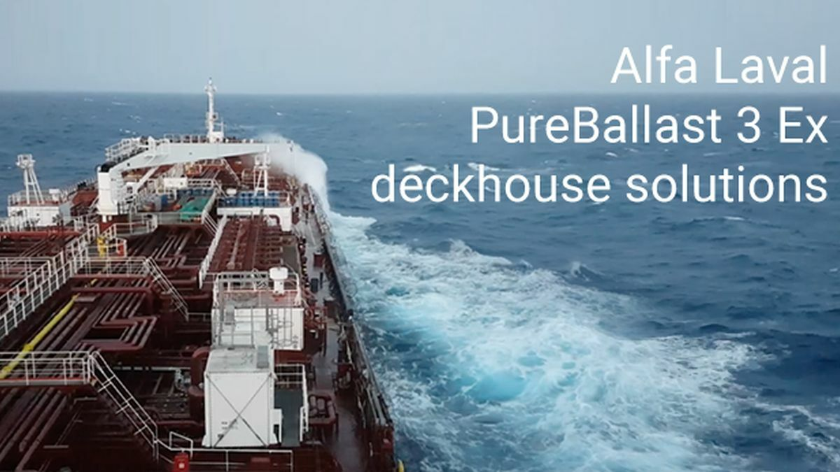 Pre-assembled deckhouse solutions meet tanker challenges in ballast water treatment